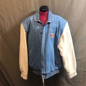 Vintage Nike Honolulu Marathon Varsity Jacket